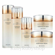 [MISSHA] Time Revolution Nutritious Eye Cream/Toner/Essence/Emulsion/Set [RUBY]