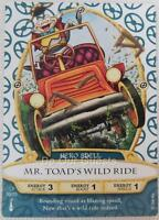 Disney Sorcerers of the Magic Kingdom Card 50 Mr. Toad's Wild Ride New