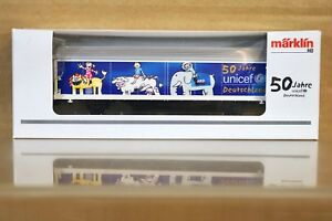 MARKLIN MÄRKLIN 94203 PMS 62-15 POST MUSEUMS Hbils 50 JAHRE UNICEF GOODS WAGON