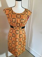 Phoebe Couture Dress Multi Color Size 2