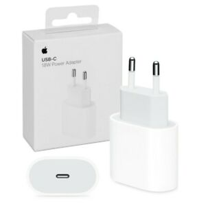 Adaptateur original Prise secteur USB-C 18W apple chargeur rapide iphone ipad