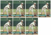 (7) 1992 Stadium Club Dome Baseball #111 Dennis Martinez Montreal Expos Card Lot