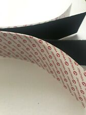 VELCRO BRAND 50mm SELF ADHESIVE VELCRO BLACK STRIP 30cm LENGTHS **FREE P&P**