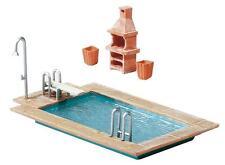Faller H0 180542 Swimming-Pool und Gartenhaus #NEU in OVP