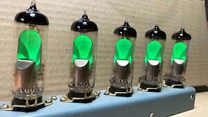 6E1P / EM80 / 6BR5 /MAGIC EYE Tube REFLECTOR  / NOS / NIB .Lot of 1 Pcs.TESTED!!