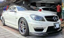 CARBON SIDE SKIRT EXTENSION R STYLE FOR MERCEDES BENZ W204 C63 AMG FACELIFT