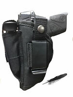 Fits Ruger LCP 380  Nylon Concealed Gun Holster