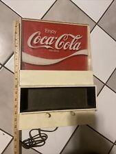 1970s Vintage Coca Cola Coke Light Up Clock by Everbrite Model G020 Digital
