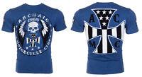 ARCHAIC by AFFLICTION Men T-Shirt MOTOR BILLY Motorcycle Chopper Biker UFC $40 b