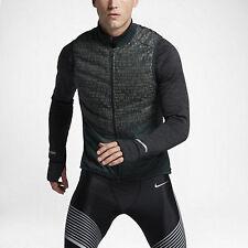 Mens Nike Nike Aeroloft Flash Running Vest 800501-364 Black Brand New Sizes L