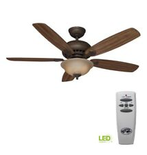 Hampton Bay 52371 Southwind 52 in. LED Indoor Venetian Bronze Ceiling Fan