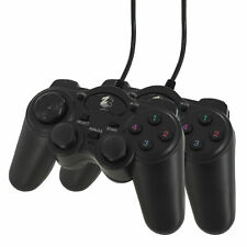 2x Wired Shock Turbo Fire Analog Controller Pad Gamepad Joypad for Sony Ps2 Ps1