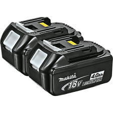 Makita BL1840 18-Volt 4.0Ah LXT Lithium-Ion Battery 2-Pack Two Batteries Total