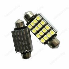 2x Canbus White 16 SMD LED C5W 239 272 Festoon Bulb REG Number Plate Light BMW