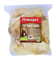 ALL NATURAL Beef Cow Ears-DOG Treats 25CT Natural Flavor-FDA & USDA APPROVED