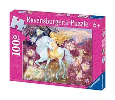 Ravensburger RIDING IN THE WOODS 100 XXL Piece Puzzle Shimmering Glitter