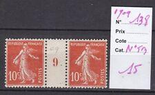FRANCE MILLESIME 1909 N°138-N*.TB-VOIR SCAN-M197