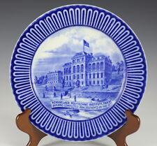 Royal Doulton China Rensselaer Polytechnic Institute Plate by Huggins & Seiter