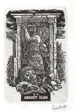 Ex Libris Lou Strik : Opus 204, Gernot Blum