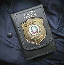 Portatessera Polizia Locale R.I. Repubblica Italiana VEGA HOLSTER 1WD