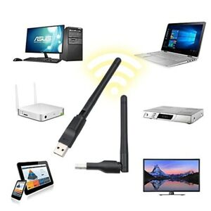 WIFI Adapter 150M USB 2.0 150Mbps WIFI Wireless Network Card Antenna Laptop PC