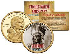 Franklin Mint Western Medal Geronimo Apache Tribe