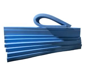 BLUE High Density Foam Sheets Cushions Seat Pads Cut to size, firm density Foam