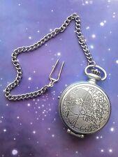 Doctor Who 10TH Reloj electrónico de bolsillo Fob Figura Suelta De Luz Y Sonido De Juguete