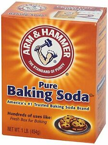 ARM & HAMMER PURE BAKING SODA LARGE 454g ARM&HAMMER ARM AND HAMMER CLEANING BAKE