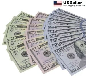 **MOTION MONEY** Fake Currency Bills for Games, Gags, Jokes, and Pranking!