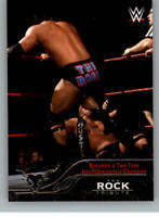 2016 Topps WWE Road to Wrestlemania The Rock Tribute Pick From List