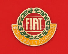 Fiat 500 600 World Rally Champion Emblem New