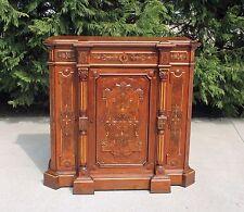 Outstanding Victorian Renaissance Revival Walnut wGold Incising Credenza c1875
