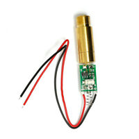 1x Industry 3V 532nm 5mw Green Diode Laser Dot Module w/Spring 12X50mm
