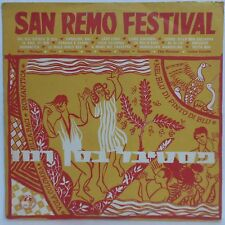 San Remo Festival - Hit comp. from 50's-60's Festivals - Mega Rare Israel press