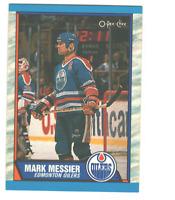 1989-90 O-Pee-Chee OPC Mark Messier #65 Edmonton Oilers HOF NM-MT