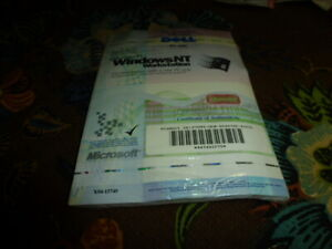 DELL Microsoft Windows NT  Workstation  2 CDS ONLY