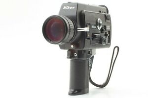 [ For Parts ] Nikon R8 Super 8mm Movie Cinema 7.5 - 60mm f1.8 From Japan