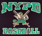 NYPD New York City Police T-Shirt Sz L Brooklyn Manhattan Finest Baseball NYC