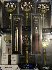 REAL! BRASS KNUCKLES GOLD OR WOOD BATTERY PEN & USB CHARGER BRAND NEW!