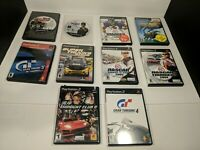 Playstation 2 PS2 Game Lot of 10 Video Games Sports and Racing