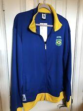 BRASIL Track Jacket South Africa 2010 FIFA World Cup Soccer Brazil XL