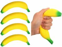Squishy Toys Banana (4 Units) Anxiety Stress Relief Toys Sand Filled