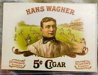 Honus Wagner Freeman Cigars Card FACSIMILE SIGNATURE on back