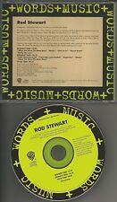 ROD STEWART Words & Music ULTRA RARE 1994 INTERVIEW PROMO DJ CD 1994 USA MINT