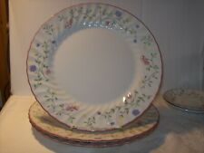 "JOHNSON BROTHERS ""SUMMER CHINTZ"" A 10.5 INCH DINNER PLATE"