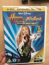Hannah Montana & Miley Cyrus:Best of Both Worlds Concert(R2 DVD)New+Sealed 3D