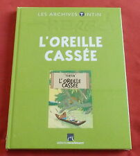 LES ARCHIVES TINTIN  HERGE L'OREILLE CASSEE NEUF SOUS BLISTER