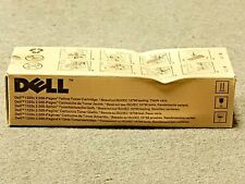 Dell PN124 Yellow Toner Cartridge 1320C Genuine New Sealed Box