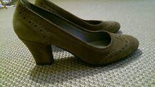 Studio Pollini tan suede shoes size 4